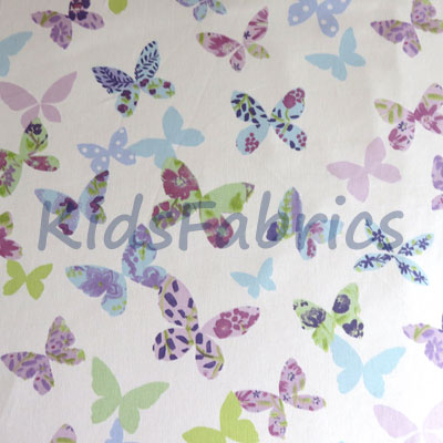 Remnant 1258: Butterfly - Lilac [0.50 metre] - £4.50 Item price