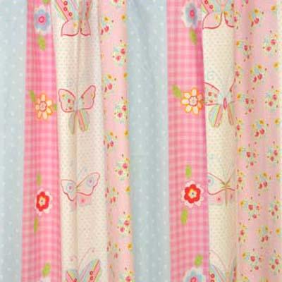 Butterfly Stripe - Pink - £10.50 per metre