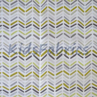 Celeste Stripe - Ochre - £13.95 per metre