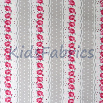 1303: Chloe - Raspberry [1.20 Mtr Roll End] - £10.00 ITEM PRICE