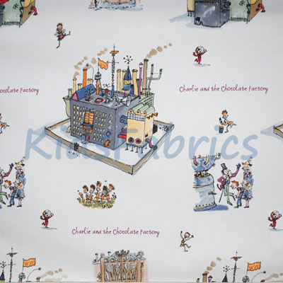Chocolate Factory - £13.50 per metre
