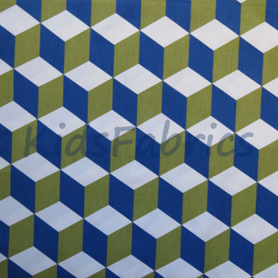 Cube - Cobalt - £12.95 per metre