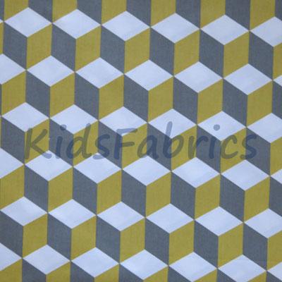 Cube - Saffron - £12.50 per metre