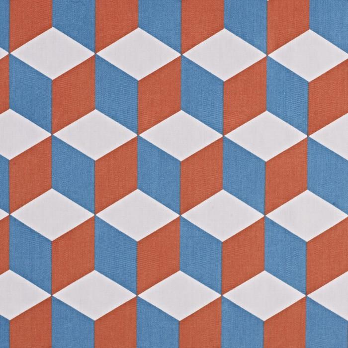 Cube - Tangerine - £12.50 PER METRE