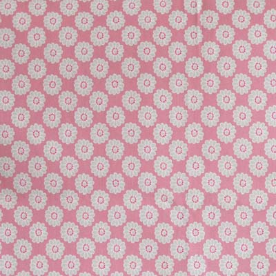 Pink fabric for curtains blinds and duvets for Kids drapery fabric