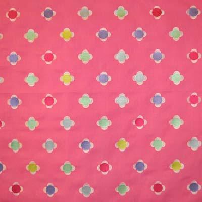 Daisy Embroidery - Fuchsia - £31.95 per metre