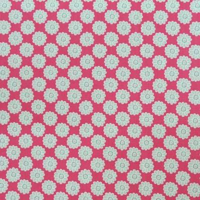 Daisy - Raspberry [SALE] - £8.50 per metre