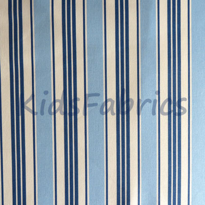 Deckchair - Blue Stripe - £11.50 per metre