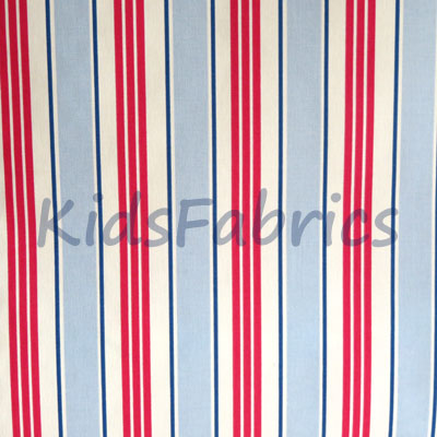 Deckchair - Powder Blue - £11.95 per metre