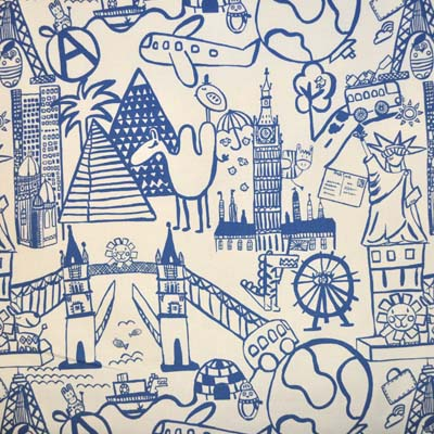 Remnant 1403: Destination - Navy [0.40 metre] - £3.00 ITEM PRICE