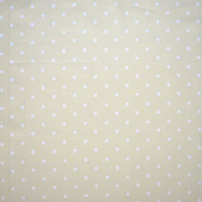 Dot - Linen - £6.95 per metre
