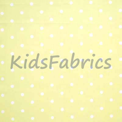 Dotty - Lemon - £11.95 per metre