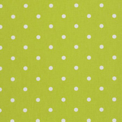 Dotty - Lime - £11.95 per metre