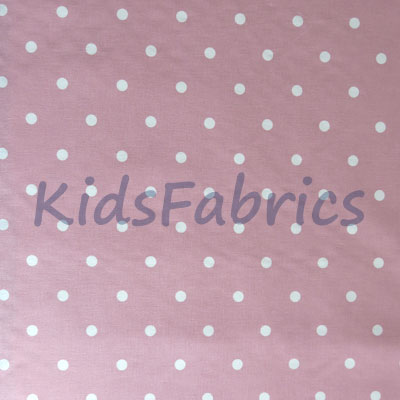 Dotty - Rose - £12.00 per metre
