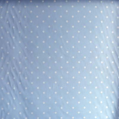 Remnant 1639: Dotty - Blue [0.90 metre] - £6.50 ITEM PRICE