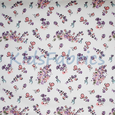 Remnant 1390: Fantabulous - Flowers [0.7 metre] - £6.50 ITEM PRICE