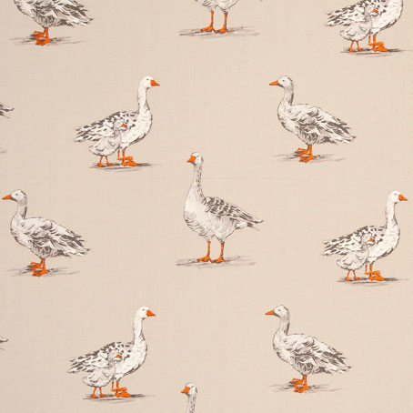 Geese - Natural - £13.50 per metre