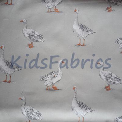 Geese - Natural - £13.95 per metre