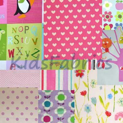 Selection fabric [Bundle] - [Girl] - £9.50 per pack