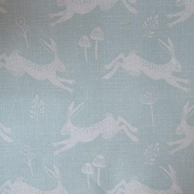 Hare - Aqua - £13.00 PER METRE