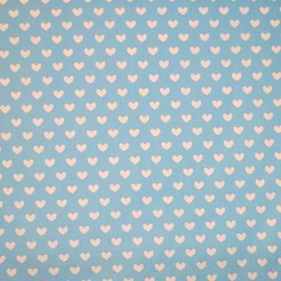 Heart - Powder Blue - £8.50 per metre