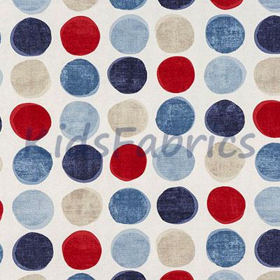 Helix Spot - Blue - £13.95 per metre