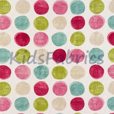 Helix Spot - Pink - £13.50 per metre