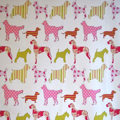 Animal fabrics animal themed materials for kids curtains for Kids drapery fabric