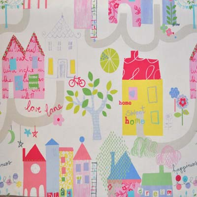Home Sweet Home - Chintz - £11.50 per metre