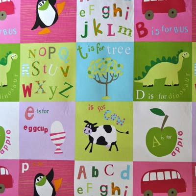 Letterbox - Pink - £11.50 per metre