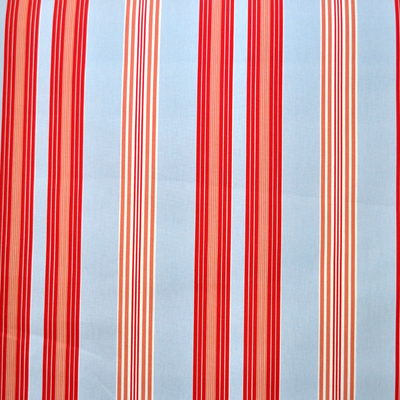 Lulu Stripe - Powder Blue - £11.50 per metre
