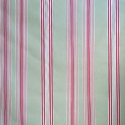 Lulu Stripe - Sage - £11.50 per metre