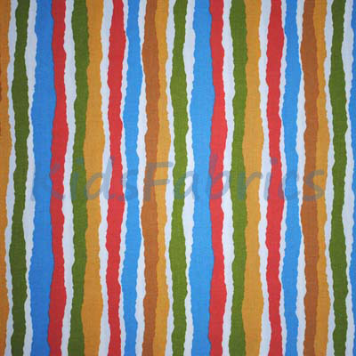 Midgy Stripe - Multi - £13.50 Per Metre