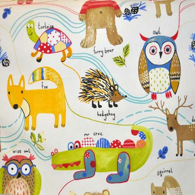 Nature Trail - Paintbox - £11.95 per metre