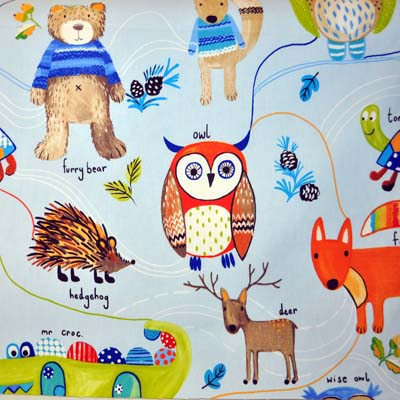 Nature Trail - Watercolour - £11.50 per metre