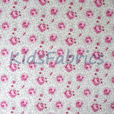 Remnant 1304: Noella - Raspberry [1.10 metre] - £9.50 ITEM PRICE