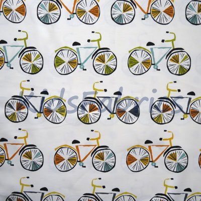 On Your Bike - Marmalade - £11.95 per metre