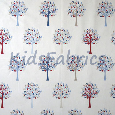Orchard - Blue [SALE] - £9.50 per metre
