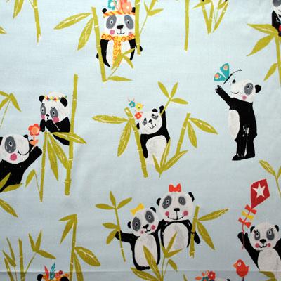 Panda - Aqua - £11.95 Per Metre