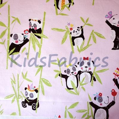 Panda - Pretty Pink - £11.95 Per Metre