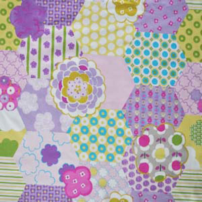 Remnant 1283: Patchwork - Candy [1.5 metre] - £11.50 Item price