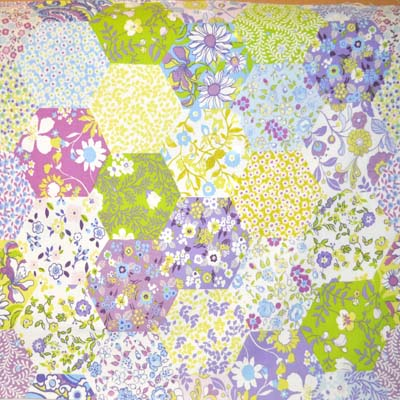 Picnic Patchwork - Lavender - £12.50 per metre