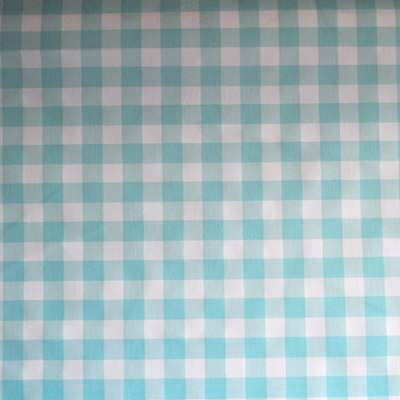 1002: Picnic - Aqua [1.5 Mtr Roll End] - £9.00 ITEM PRICE