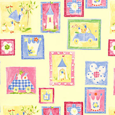 Pretty Princess - Lemon - £7.95 per metre