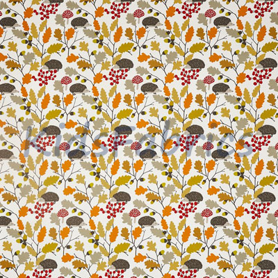 Prickly - Autumn - £12.95 per metre