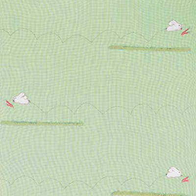 Remnant 1238: Run Rabbit -Green Check [1.40 metre] - £16.50 Item price