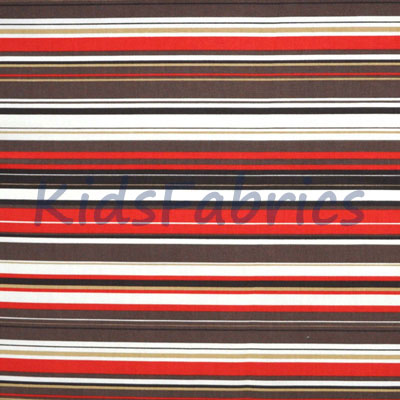 Right lines - Cinnamon - £12.50 per metre