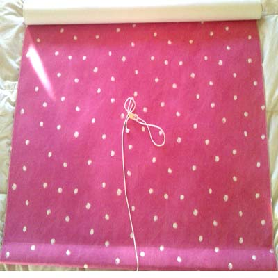 Roller Blind: Dot - Pink [SALE] - £35.00 Item price
