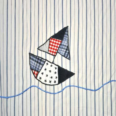 Rem455: Sailaway - Stripe [0.30 metres] - £7.40 item price