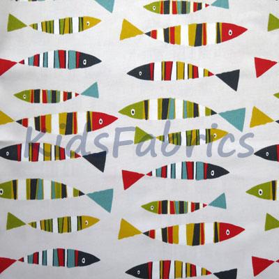 Sardines - Tutti Frutti - £11.95 per metre